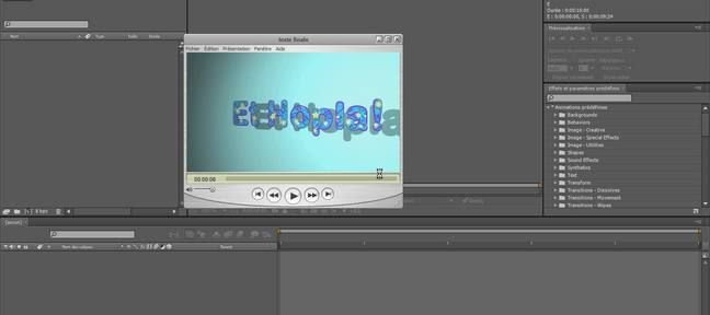 Tuto Animation de texte dans sans image clé! After Effects