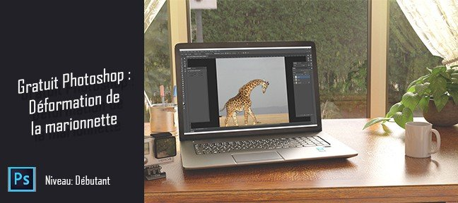 Tuto Gratuit Photoshop : Déformation de la marionnette Photoshop
