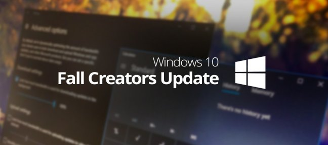 Formation complète Windows 10 Fall Creators Update