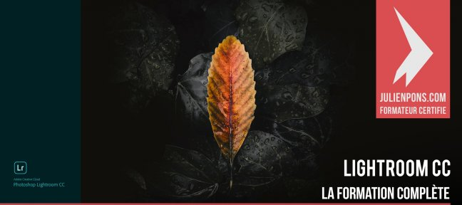 Tuto Lightroom CC - La formation complète Lightroom