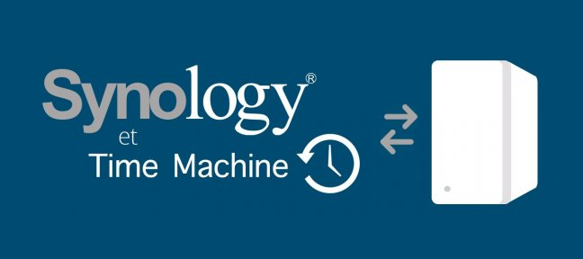TIME MACHINE sur serveur SYNOLOGY