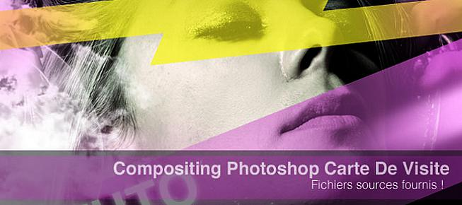 Tuto Realisation Carte De Visite Colore Et Moderne Photoshop Benjamin Nazon