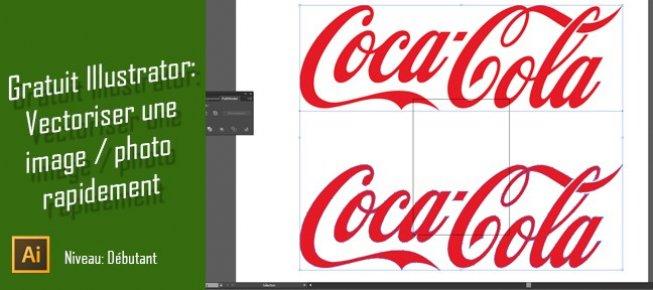 Tuto Gratuit Illustrator Vectoriser Une Image Ou Photo Rapidement Cc Sur Tuto Com