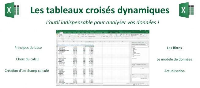 Tuto Excel Et Les Tableaux Croises Dynamiques 2016 Sur Tuto Com