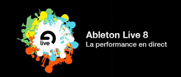 image Formation Ableton Live 8  : performance en direct
