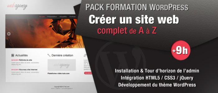 image PACK FORMATION WORDPRESS : Créer un site Web Complet