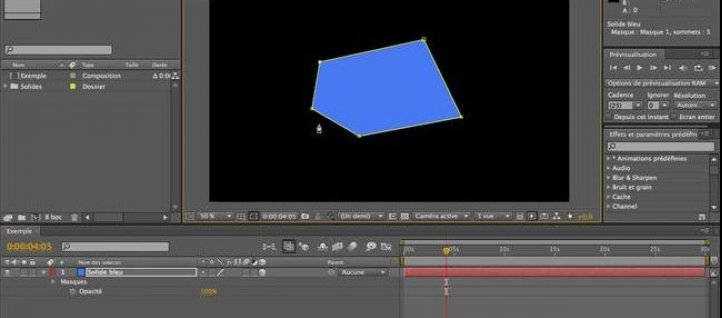 Tuto Outil Plume After Effects
