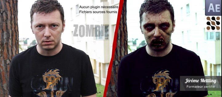 Tuto Transformez-vous en Zombie After Effects