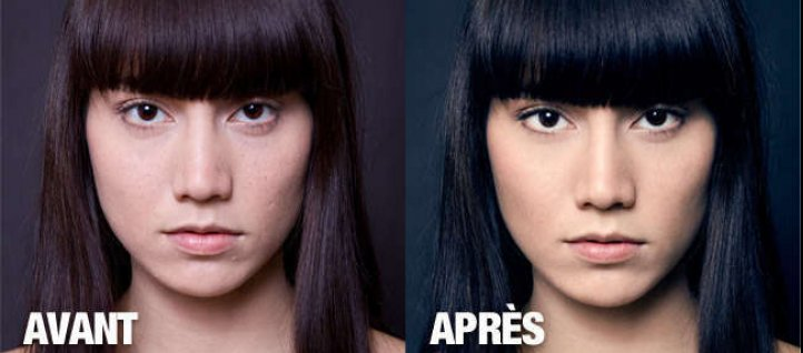 Tuto Retouche beauté Photoshop