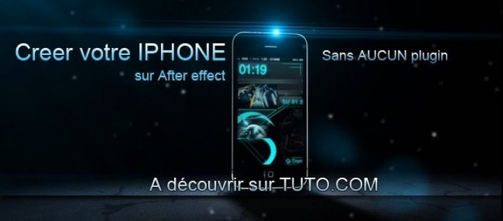 Tuto iPhone 3D After Effects