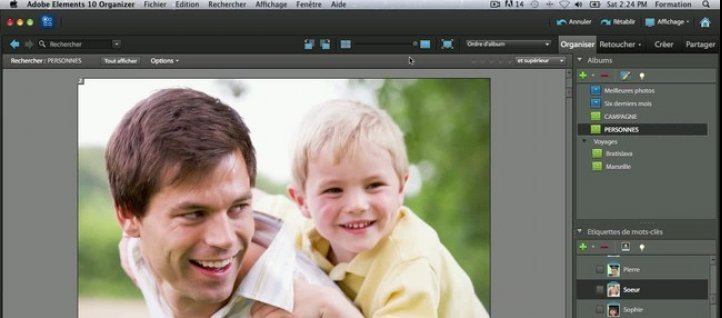 Tuto Rechercher par similarité Photoshop Elements