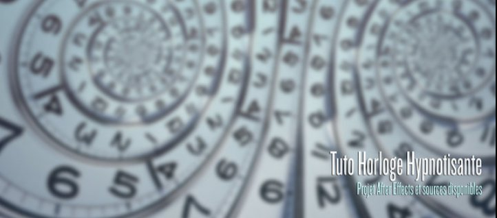 Tuto Horloge Hypnotisante After Effects