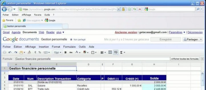 Tuto Formules et Fonctions Google Apps