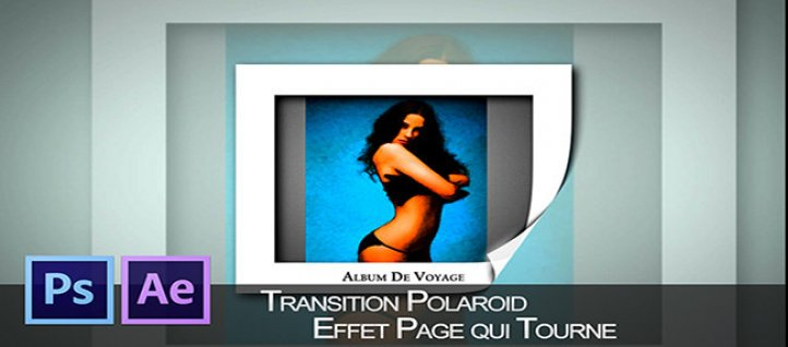 Tuto Galerie Polaroid animée sous After Effects After Effects