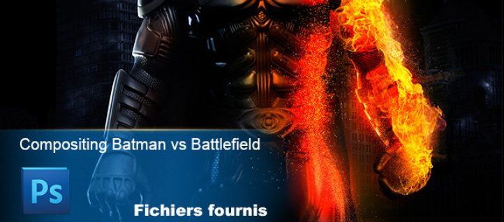 Tuto Compositing Batman vs Battlefield 3 Photoshop