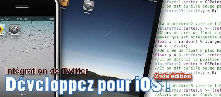 Tuto Tweetez depuis votre application iPhone ! Xcode