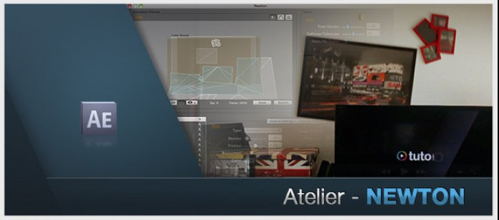 Tuto Atelier After Effects : Newton After Effects