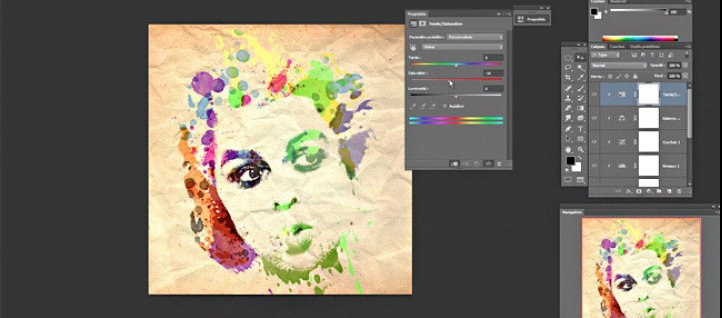 Tuto Réaliser un portrait aquarelle Photoshop