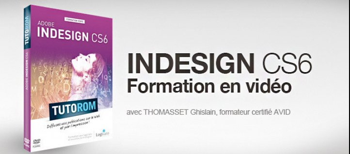 Tuto Tutoriel InDesign CS6 Indesign