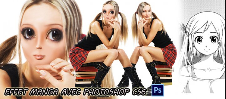 Tuto Effet manga avec Photoshop CS6 Photoshop