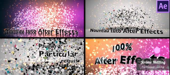 Tuto Explosion d'un logo avec Particular After Effects