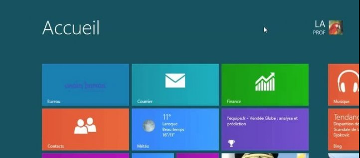 Tuto Les objets de Windows 8 Windows
