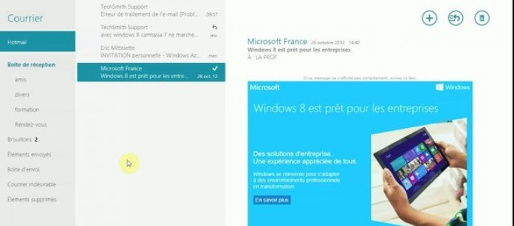 Tuto Autres comptes courriers Windows