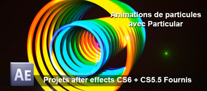 Tuto Animation de particules avec Particular After Effects