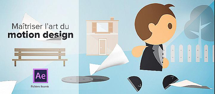 Tuto Maîtriser l'art du Motion Design After Effects