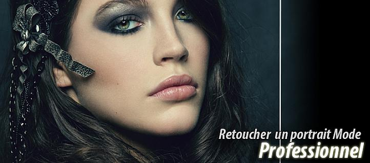Tuto Retoucher un portrait Mode / Beauty Professionnel Photoshop
