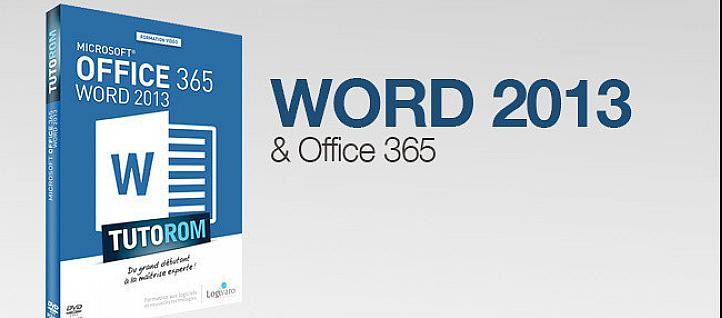 Tuto Formation Word 2013 et Office 365 Word