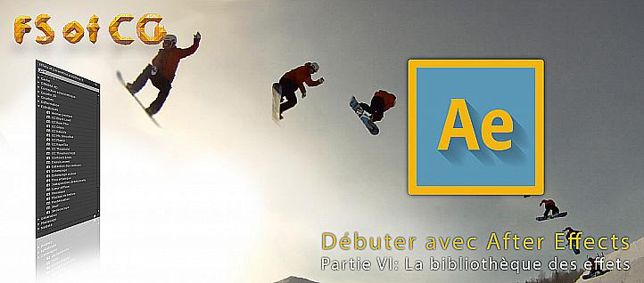 Tuto Débuter avec After Effects partie VI After Effects
