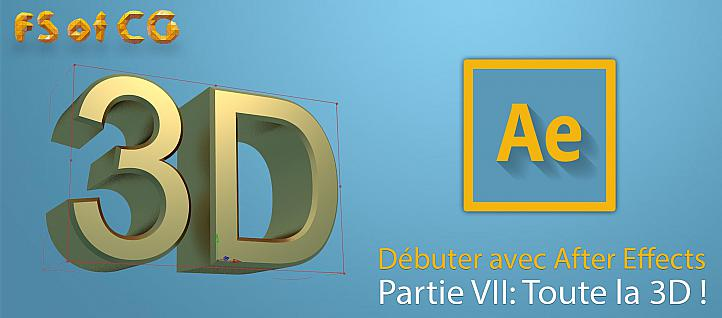 Tuto Débuter avec After Effects partie VII After Effects