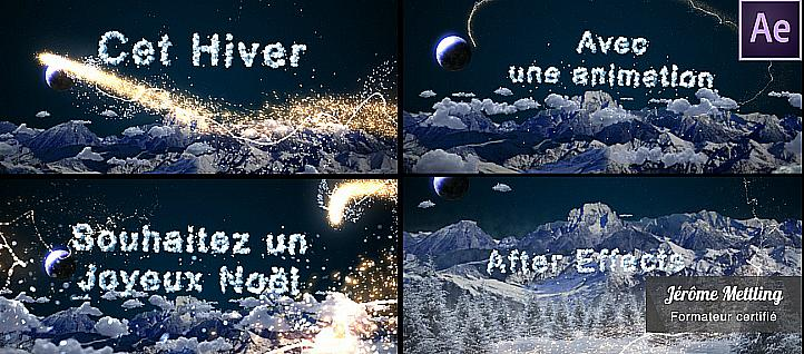 Tuto Décor et animation de Noël 2013 After Effects