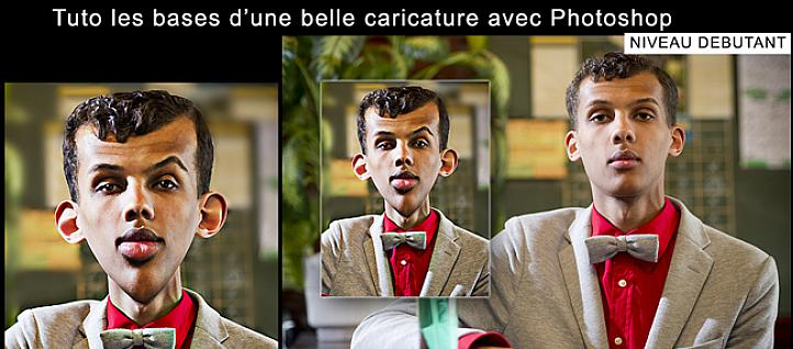 Tuto Les bases d' une belle caricature Photoshop