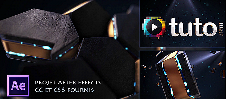 Tuto Animation d'un logo ou d'un texte avec Element 3D After Effects