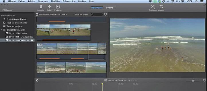 Tuto Les plans connectés iMovie