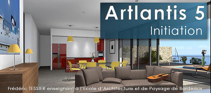 Tuto Formation Artlantis 5 - Initiation Artlantis