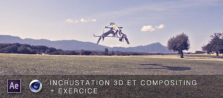 Tuto Incrustation 3D et compositing dan After Effects After Effects
