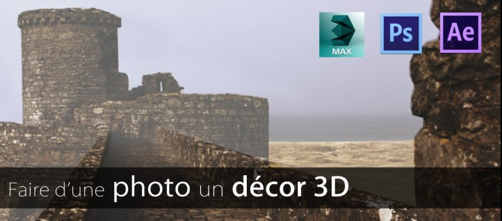 Tuto Transformer une photo en décor 3D 3ds Max