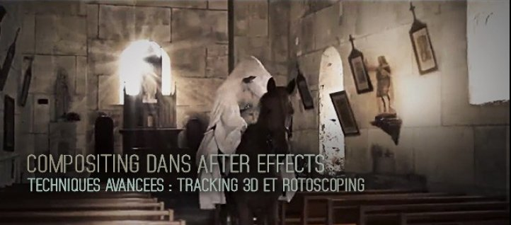 Tuto Techniques avancées de compositing sur After Effects After Effects