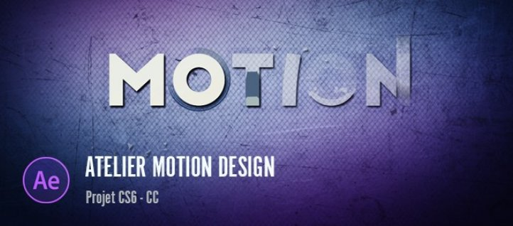 Tuto Gratuit : Atelier motion design - Apparition de lettre After Effects