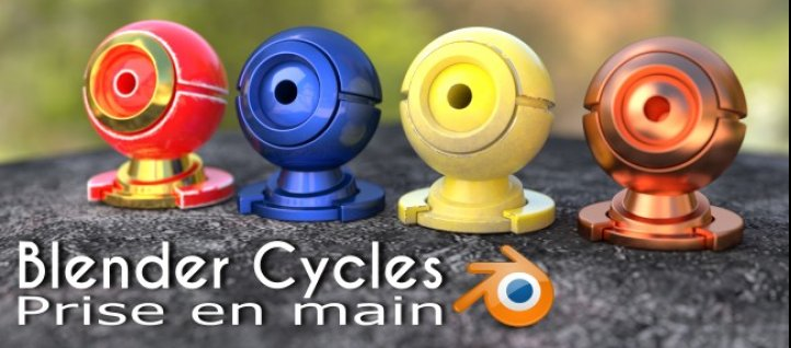 Tuto Blender Cycles : Prise en main Blender