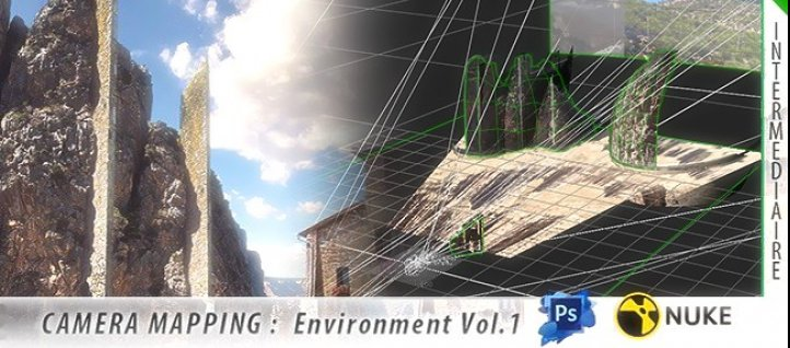 Tuto CAMERA MAPPING - Environment - Vol.01 Nuke