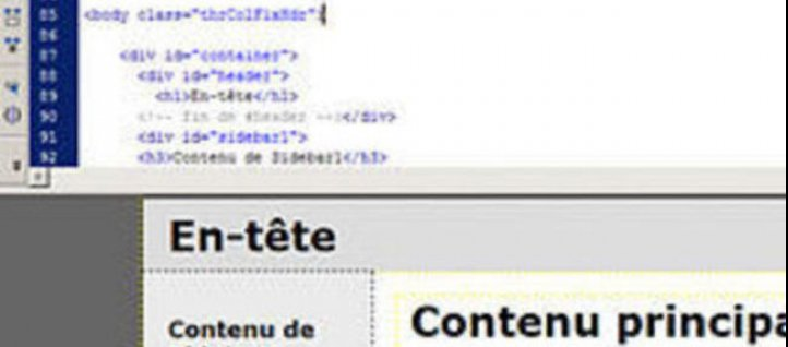 Tuto Découverte de l'interface Dreamweaver