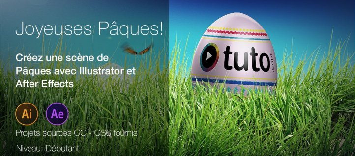 Tuto Créer une animation de Pâques dans After Effects After Effects