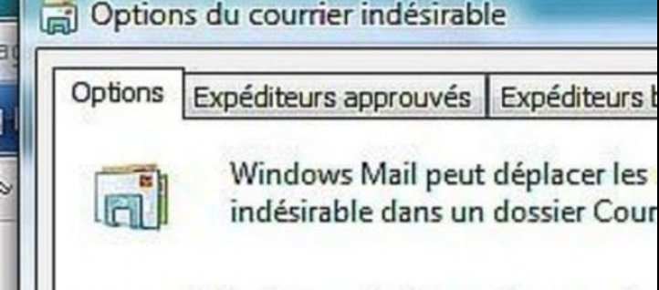 Tuto Evitez le spam Windows