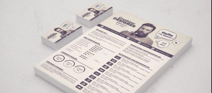 cv infographiste design graphique and design t