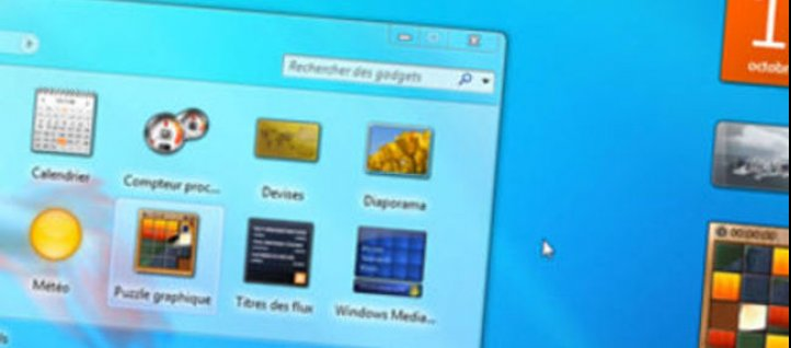 Tuto Les Gadgets - Windows 7 Windows