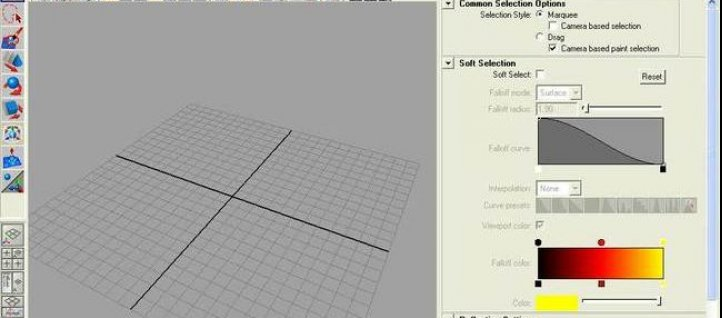 Tuto Option Select/Move/Rotate/Scale Maya